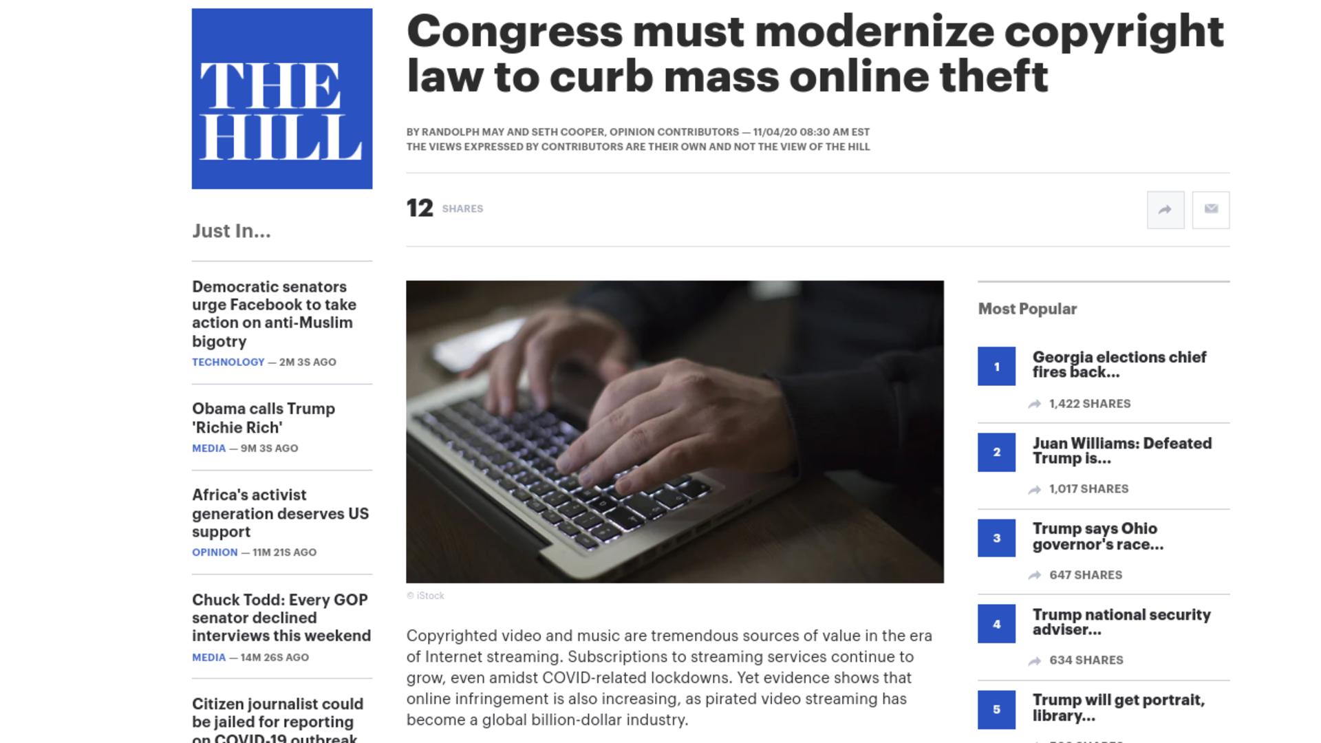Fairness Rocks News Congress must modernize copyright law to curb mass online theft