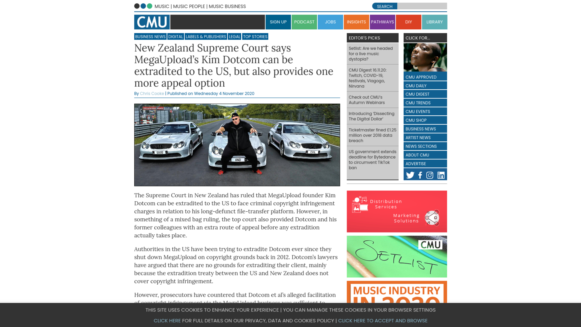 Fairness Rocks News New Zealand Supreme Court says MegaUpload's Kim Dotcom can be extradited to the US, but also provides one more appeal option
