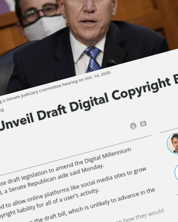 Fairness Rocks News Tillis Said to Unveil Draft Digital Copyright Bill in December