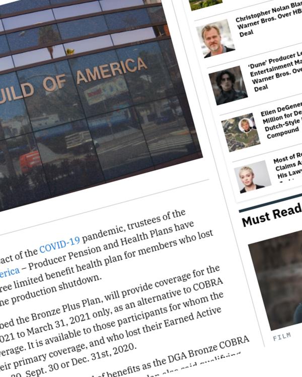 Fairness Rocks News Directors Guild Approves Premium-Free Limited Benefit Health Plan