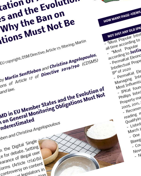 Fairness Rocks News The Implementation of Article 17 CDSMD in EU Member States and the Evolution of the Digital Services Act: Why the Ban on General Monitoring Obligations Must Not Be Underestimated