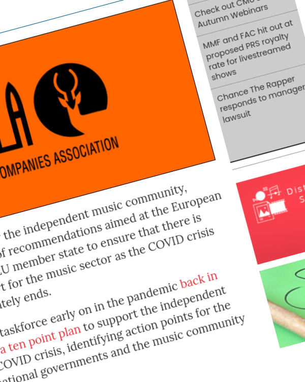 Fairness Rocks News IMPALA publishes new recommendations for post-COVID music industry recovery across Europe