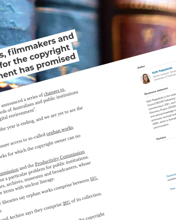 Fairness Rocks News Researchers, librarians, filmmakers and teachers are waiting for the copyright reforms the government has promised