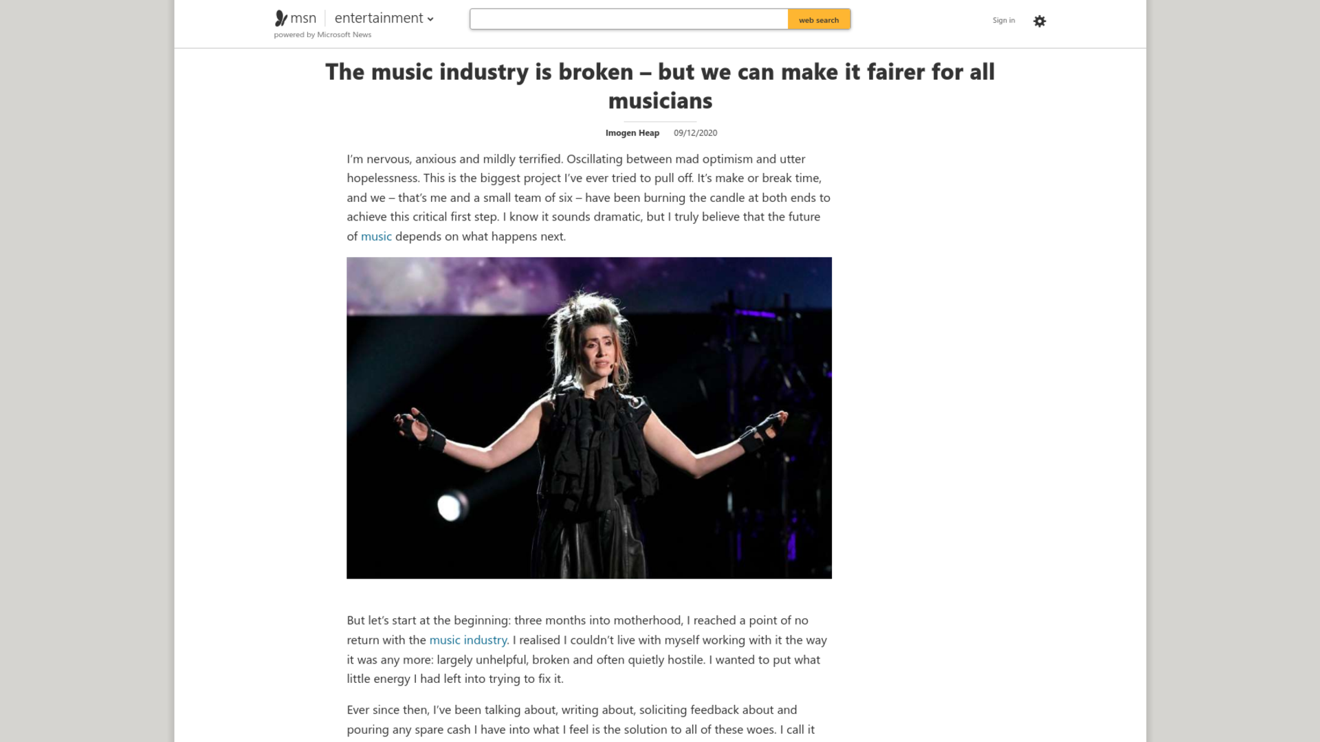 Fairness Rocks News The music industry is broken – but we can make it fairer for all musicians
