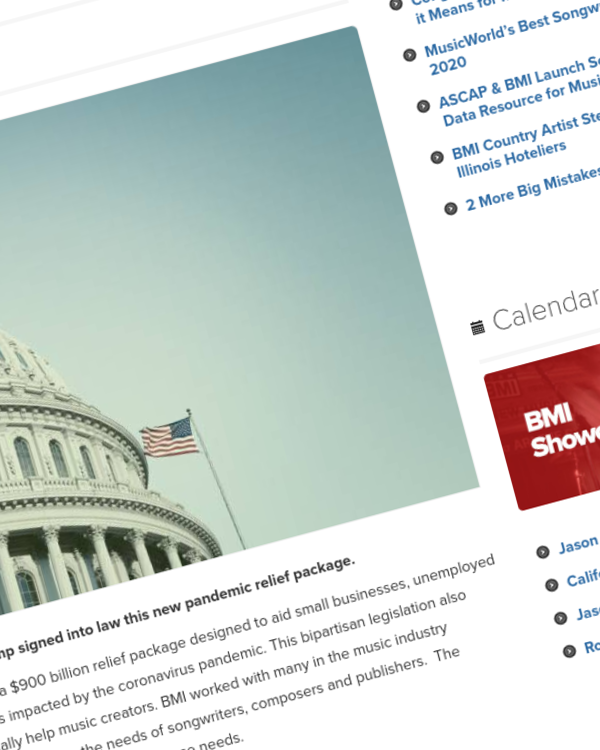 Fairness Rocks News Congress Approves New COVID Relief Package: What it Means for Music Creators