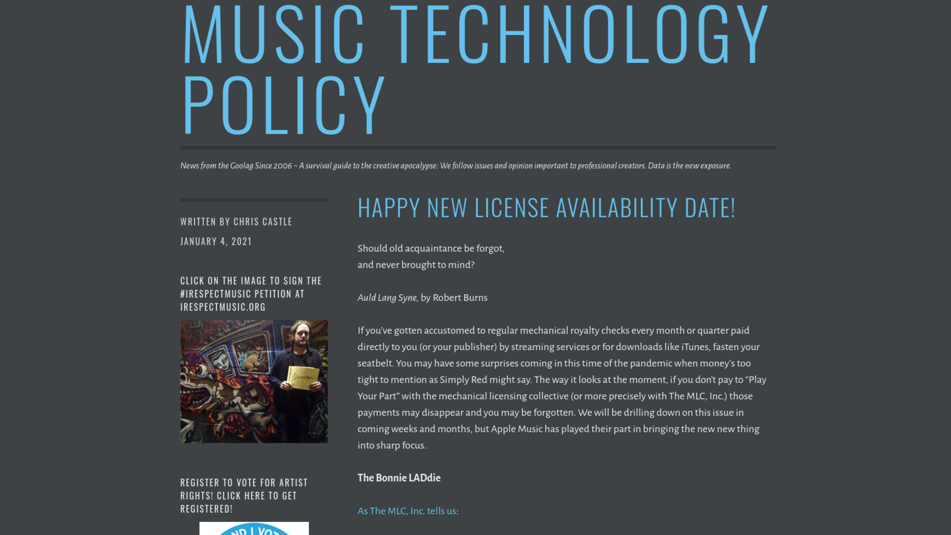 Fairness Rocks News Happy New License Availability Date!