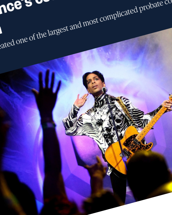 Fairness Rocks News IRS says Prince's estate was undervalued by $80 million