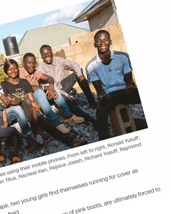Fairness Rocks News These Nigerian kids are creating epic sci-fi short films using their phones, and Hollywood is paying attention