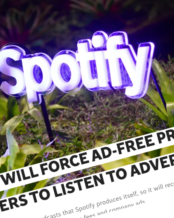 Fairness Rocks News Spotify will force ad-free Premium users to listen to adverts