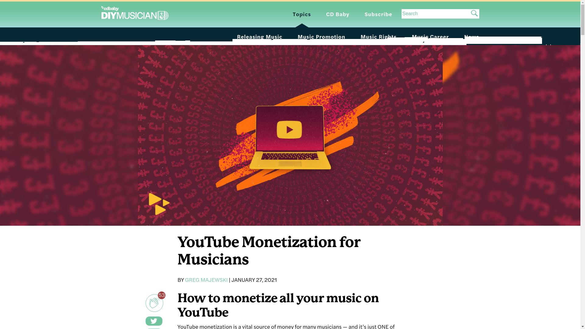 Fairness Rocks News YouTube Monetization for Musicians