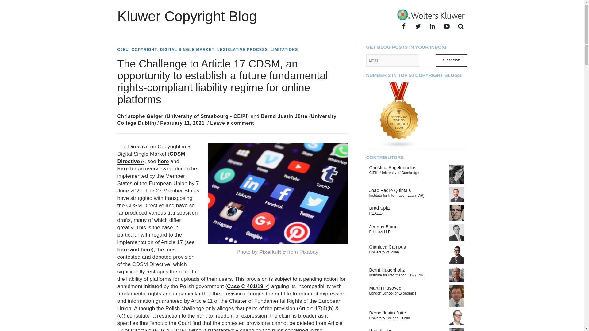 Fairness Rocks News The Challenge to Article 17 CDSM, an opportunity to establish a future fundamental rights-compliant liability regime for online platforms