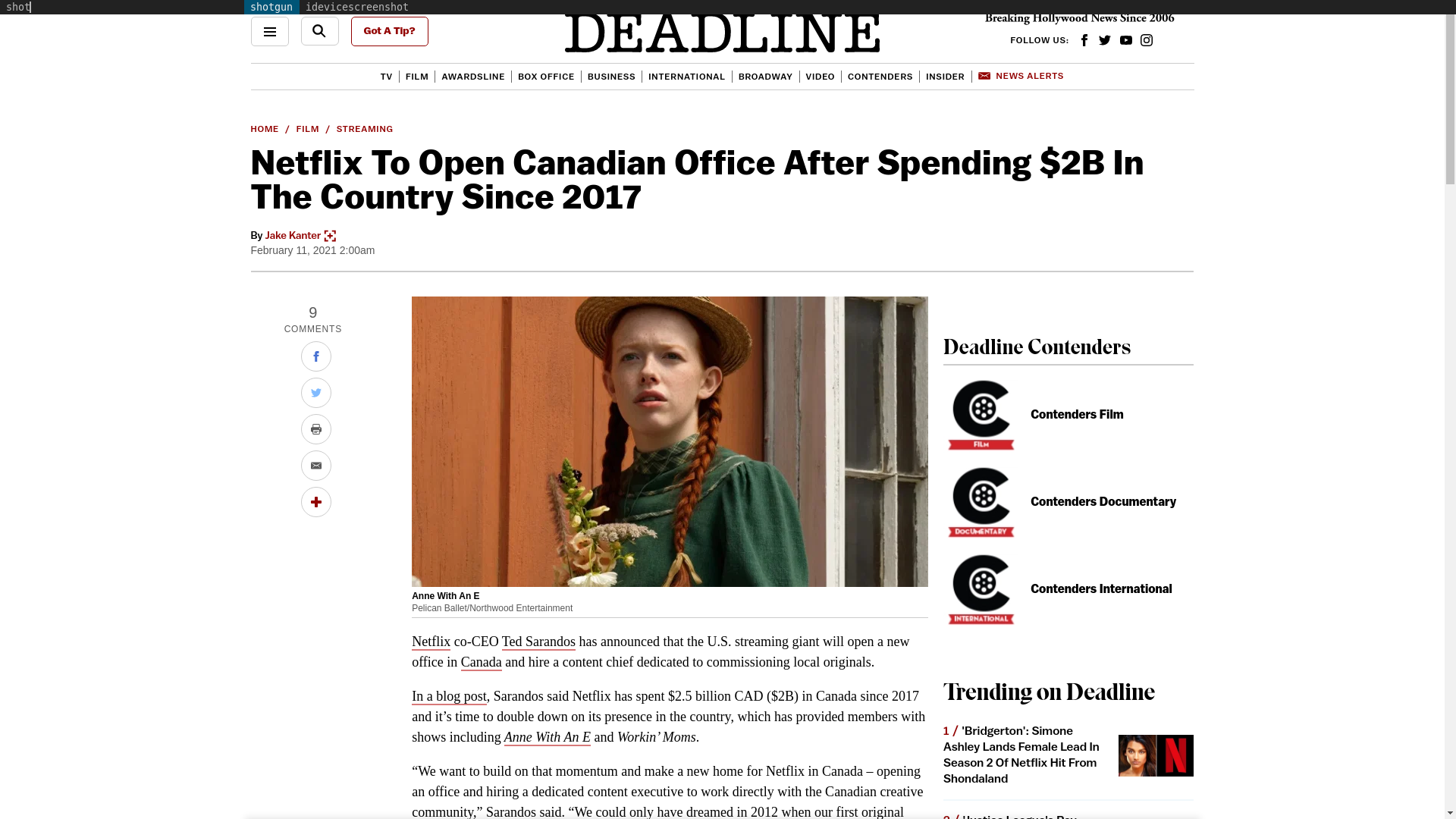 Fairness Rocks News Netflix To Open Canadian Office After Spending $2B In The Country Since 2017