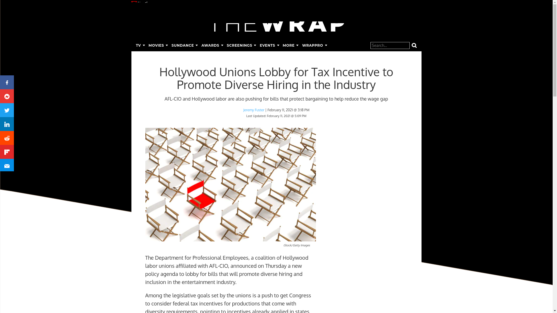 Fairness Rocks News Hollywood Unions Lobby for Tax Incentive to Promote Diverse Hiring in the Industry