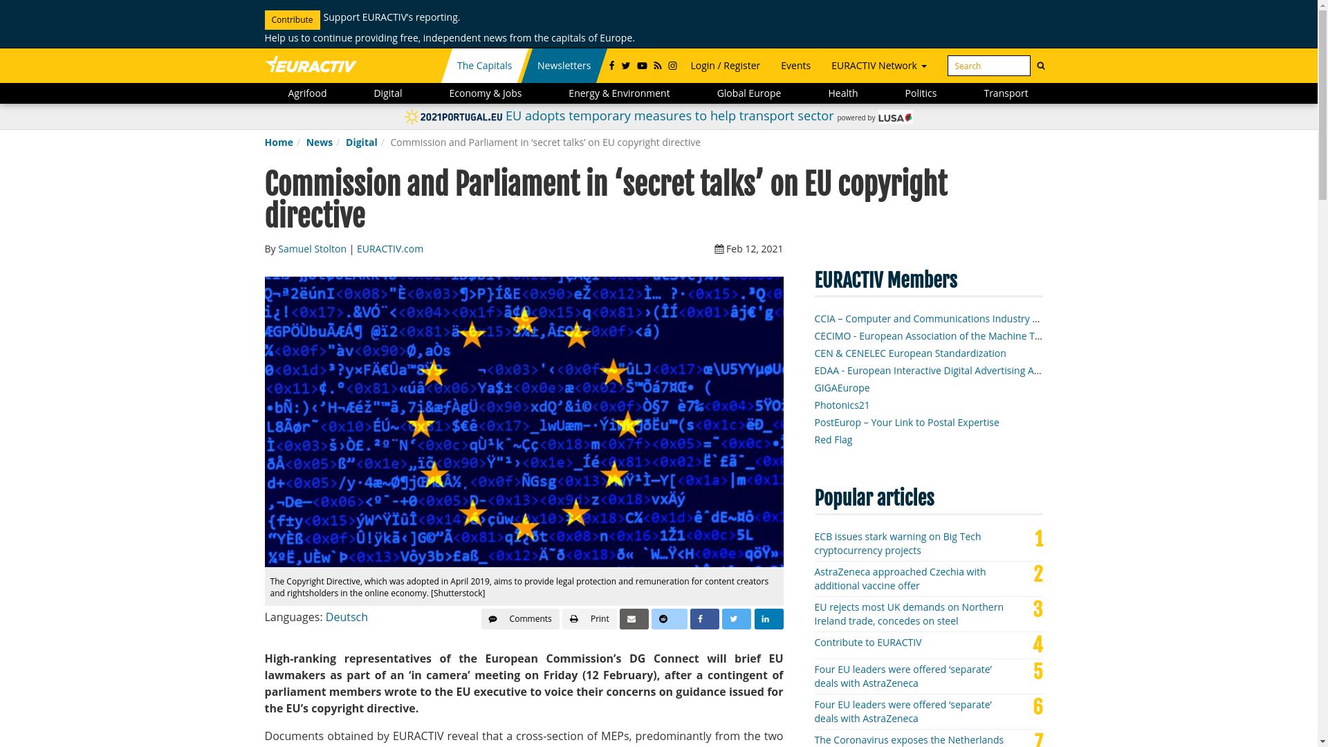 Fairness Rocks News Commission and Parliament in 'secret talks' on EU copyright directive