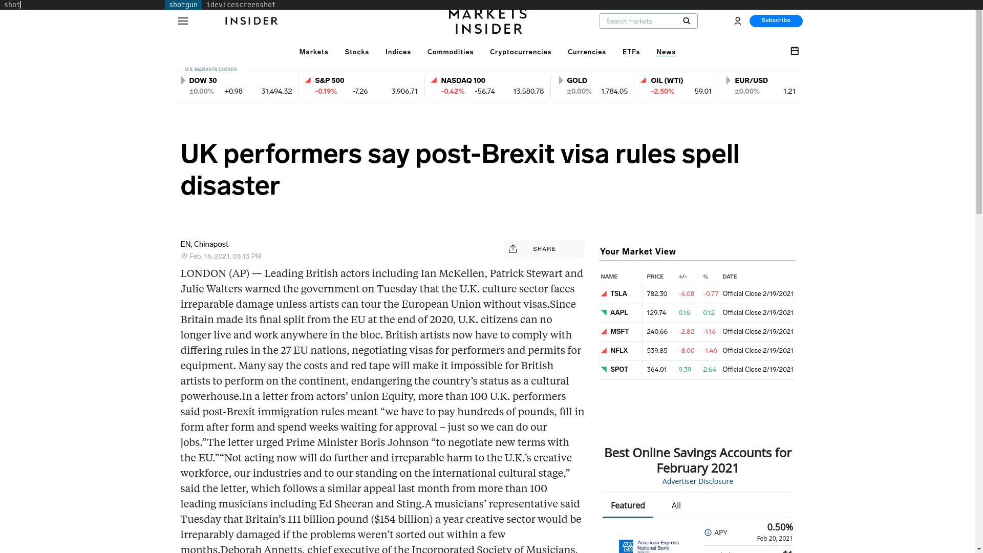 Fairness Rocks News UK performers say post-Brexit visa rules spell disaster