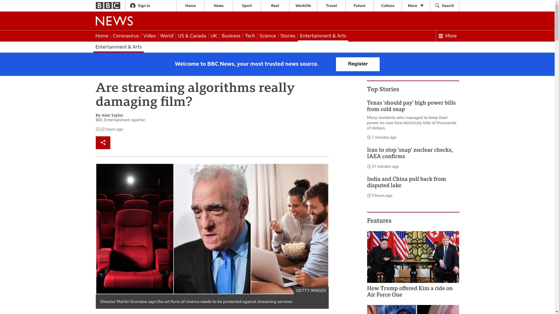 Fairness Rocks News Are streaming algorithms really damaging film?