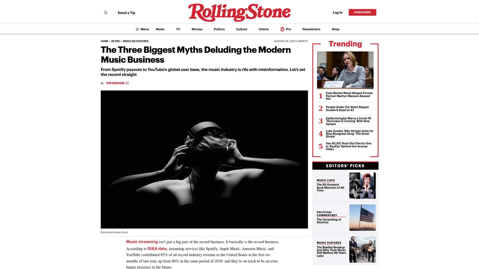 Fairness Rocks News The Three Biggest Myths Deluding the Modern Music Business