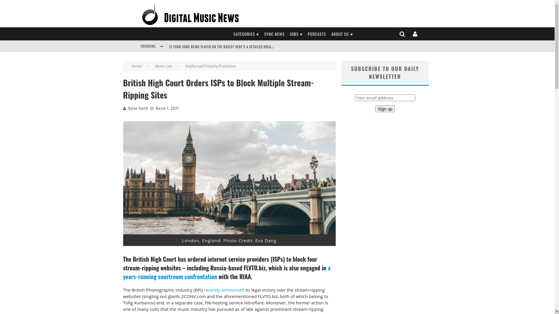Fairness Rocks News British High Court Orders ISPs to Block Multiple Stream-Ripping Sites