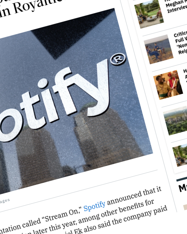 Fairness Rocks News Spotify to Launch HiFi Option Later This Year, Paid Out $5 Billion in Royalties in 2020