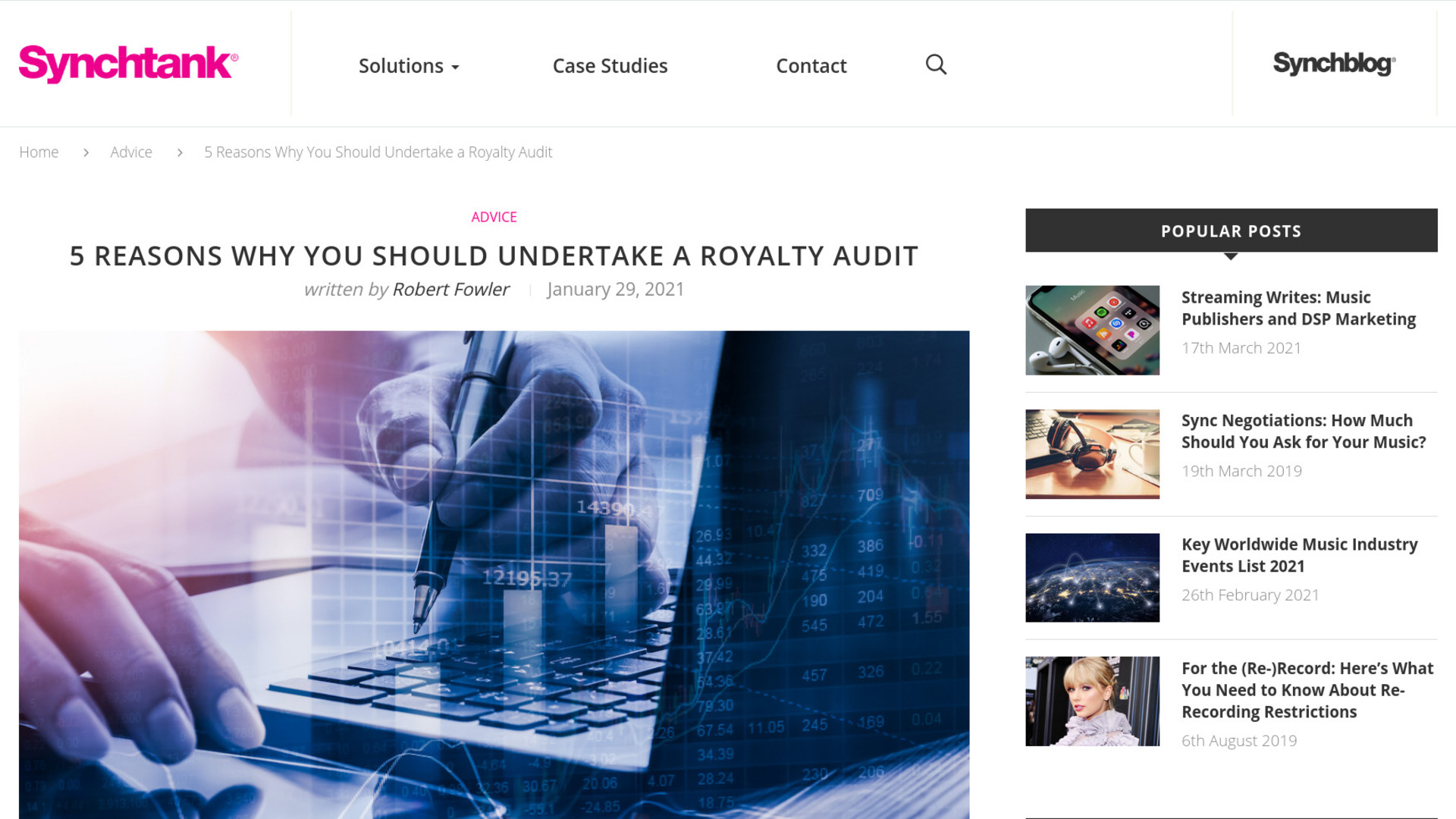 Fairness Rocks News 5 Reasons Why You Should Undertake a Royalty Audit