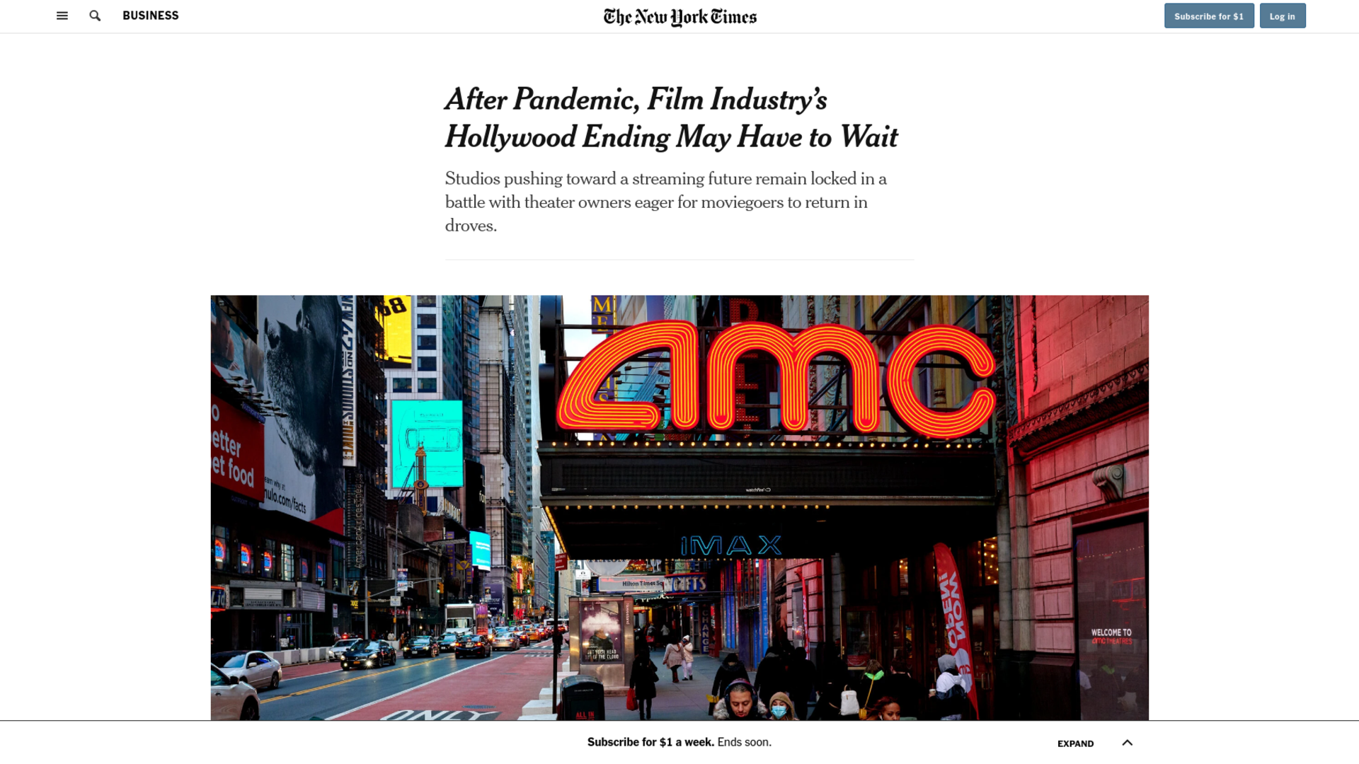 Fairness Rocks News After Pandemic, Film Industry's Hollywood Ending May Have to Wait