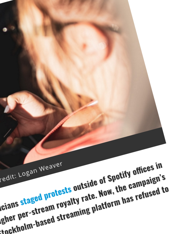 Fairness Rocks News Spotify Refuses to Offer Penny-a-Stream Royalty Payments to Artists