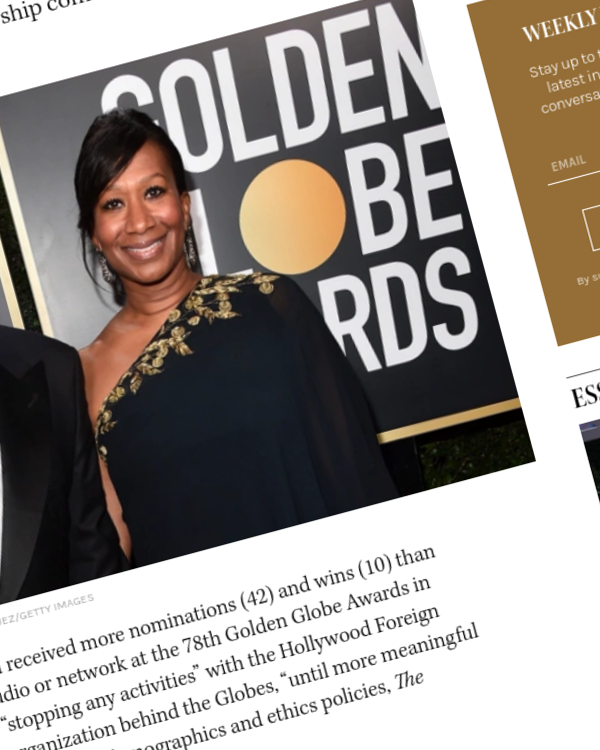 """Fairness Rocks News Golden Globes: Netflix """"Stopping Any Activities"""" with HFPA Unless and Until Further Reforms Are Made"""