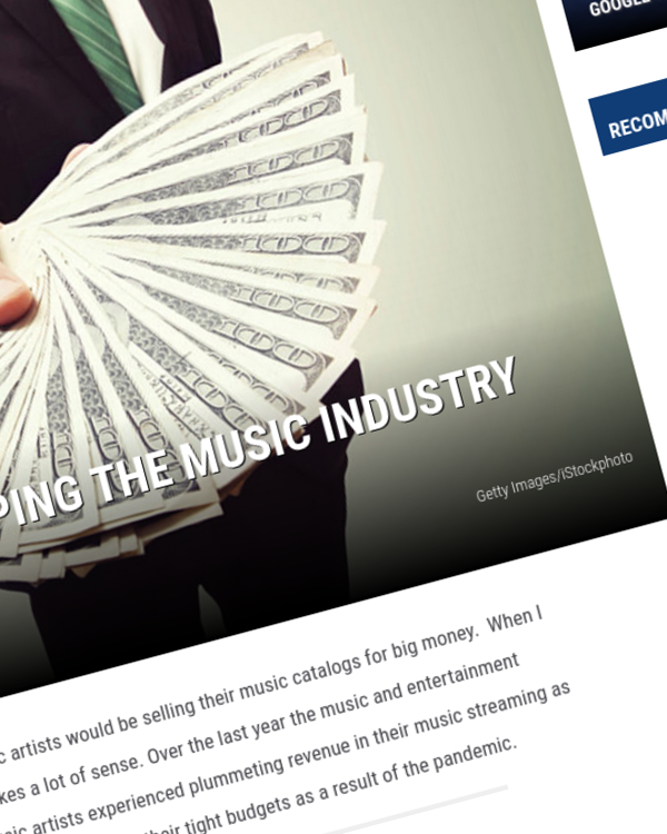 Fairness Rocks News Publishers are flipping the music industry upside down