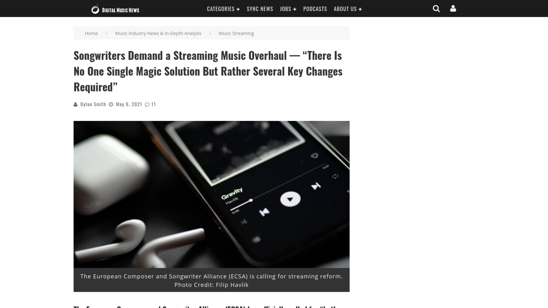 """Fairness Rocks News Songwriters Demand a Streaming Music Overhaul — """"There Is No One Single Magic Solution But Rather Several Key Changes Required"""""""