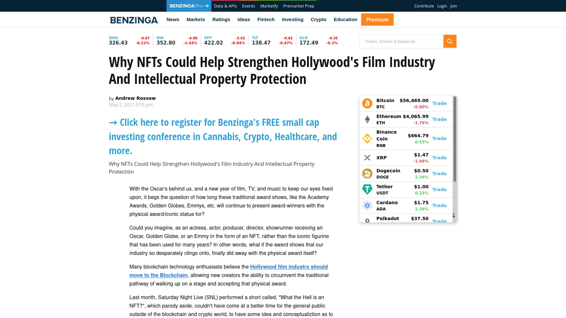 Fairness Rocks News Why NFTs Could Help Strengthen Hollywood's Film Industry And Intellectual Property Protection