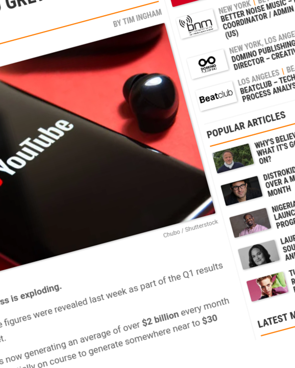 Fairness Rocks News YouTube is now generating $2bn a month from ads – and grew faster than Netflix in Q1