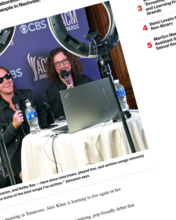 Fairness Rocks News How Virtual Songwriting Sessions Became the Nashville Norm
