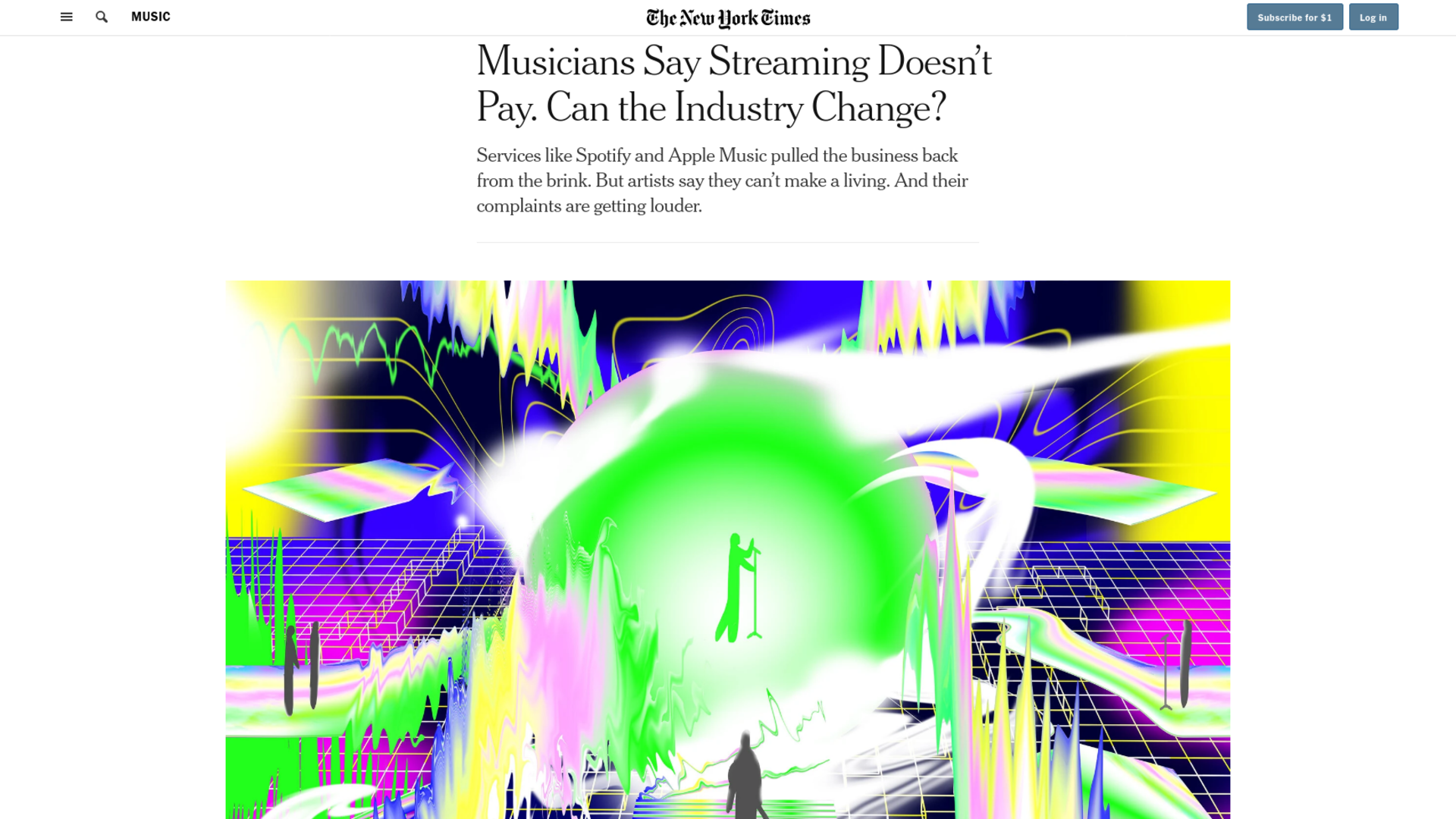 Fairness Rocks News Musicians Say Streaming Doesn't Pay. Can the Industry Change?
