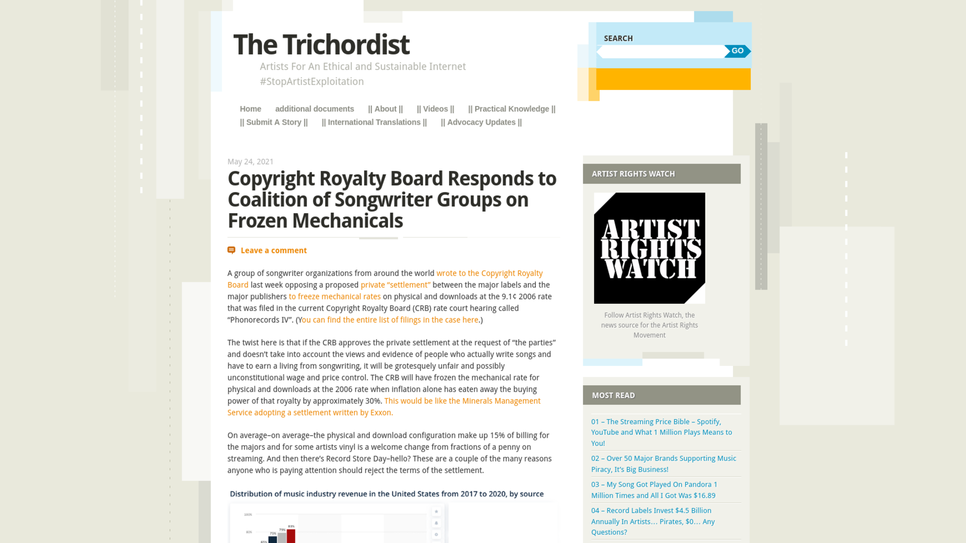 Fairness Rocks News Copyright Royalty Board Responds to Coalition of Songwriter Groups on Frozen Mechanicals
