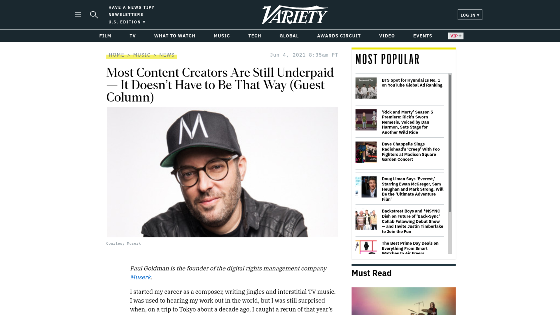Fairness Rocks News Most Content Creators Are Still Underpaid — It Doesn't Have to Be That Way (Guest Column)