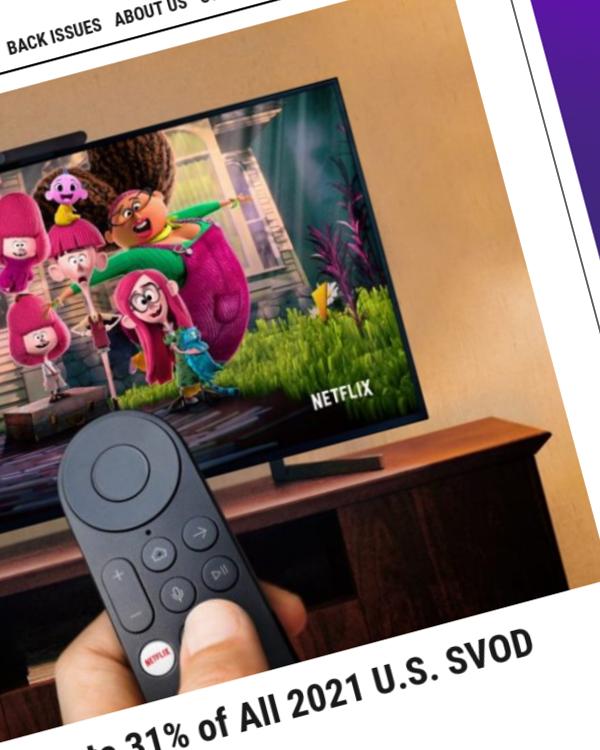 Fairness Rocks News Report: Netflix to Generate 31% of All 2021 U.S. SVOD Revenue