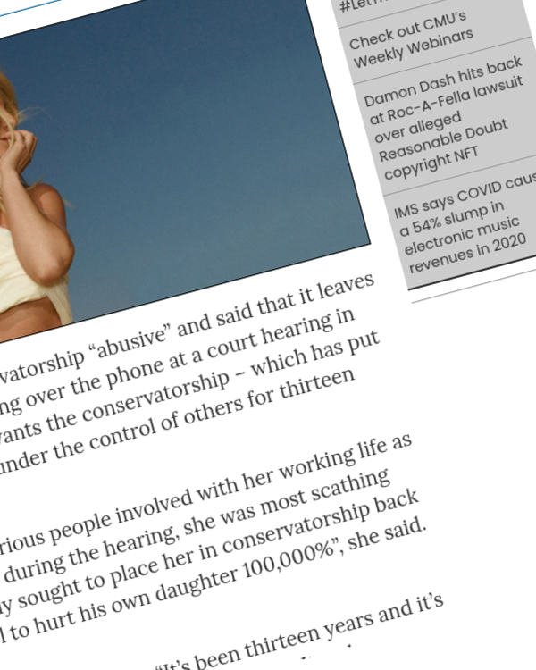 """Fairness Rocks News Britney Spears calls for """"abusive"""" conservatorship to be ended"""