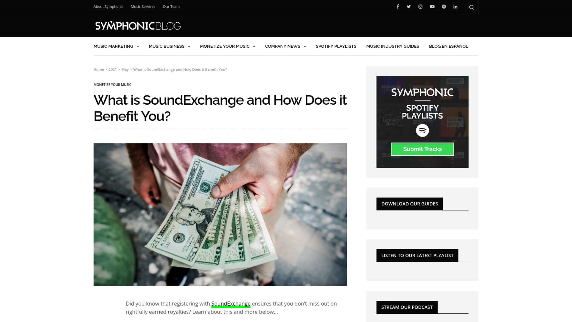 Fairness Rocks News What is SoundExchange and How Does it Benefit You?