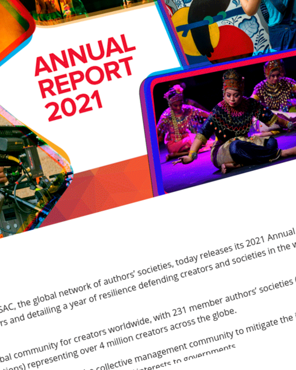 Fairness Rocks News CISAC publishes its Annual Report 2021
