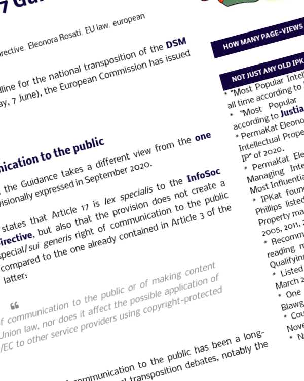 Fairness Rocks News Commission unveils Article 17 Guidance: 3 highlights