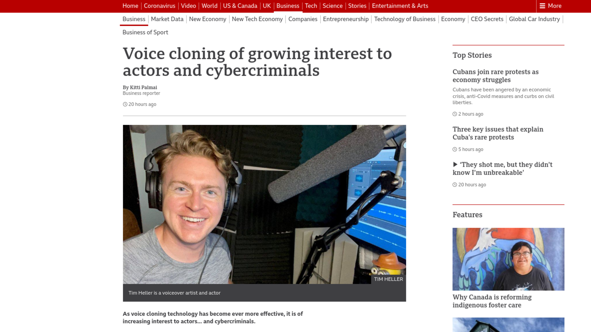 Fairness Rocks News Voice cloning of growing interest to actors and cybercriminals