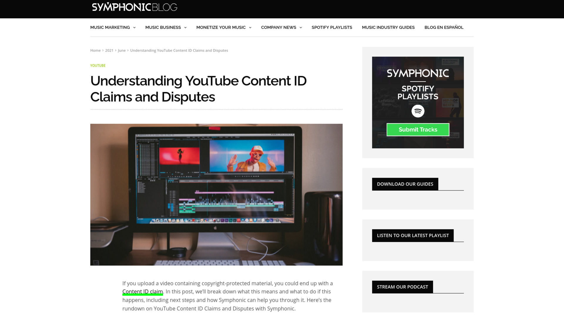 Fairness Rocks News Understanding YouTube Content ID Claims and Disputes