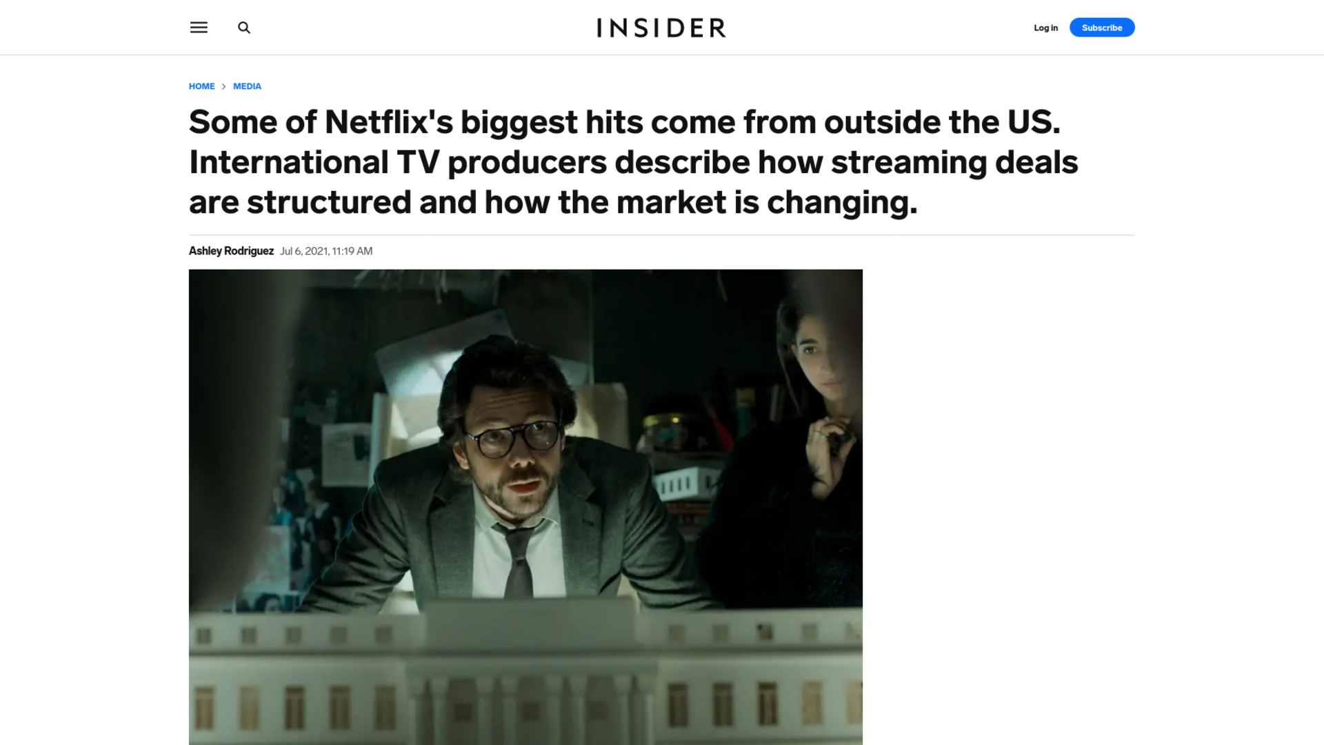 Fairness Rocks News Some of Netflix's biggest hits come from outside the US. International TV producers describe how streaming deals are structured and how the market is changing.