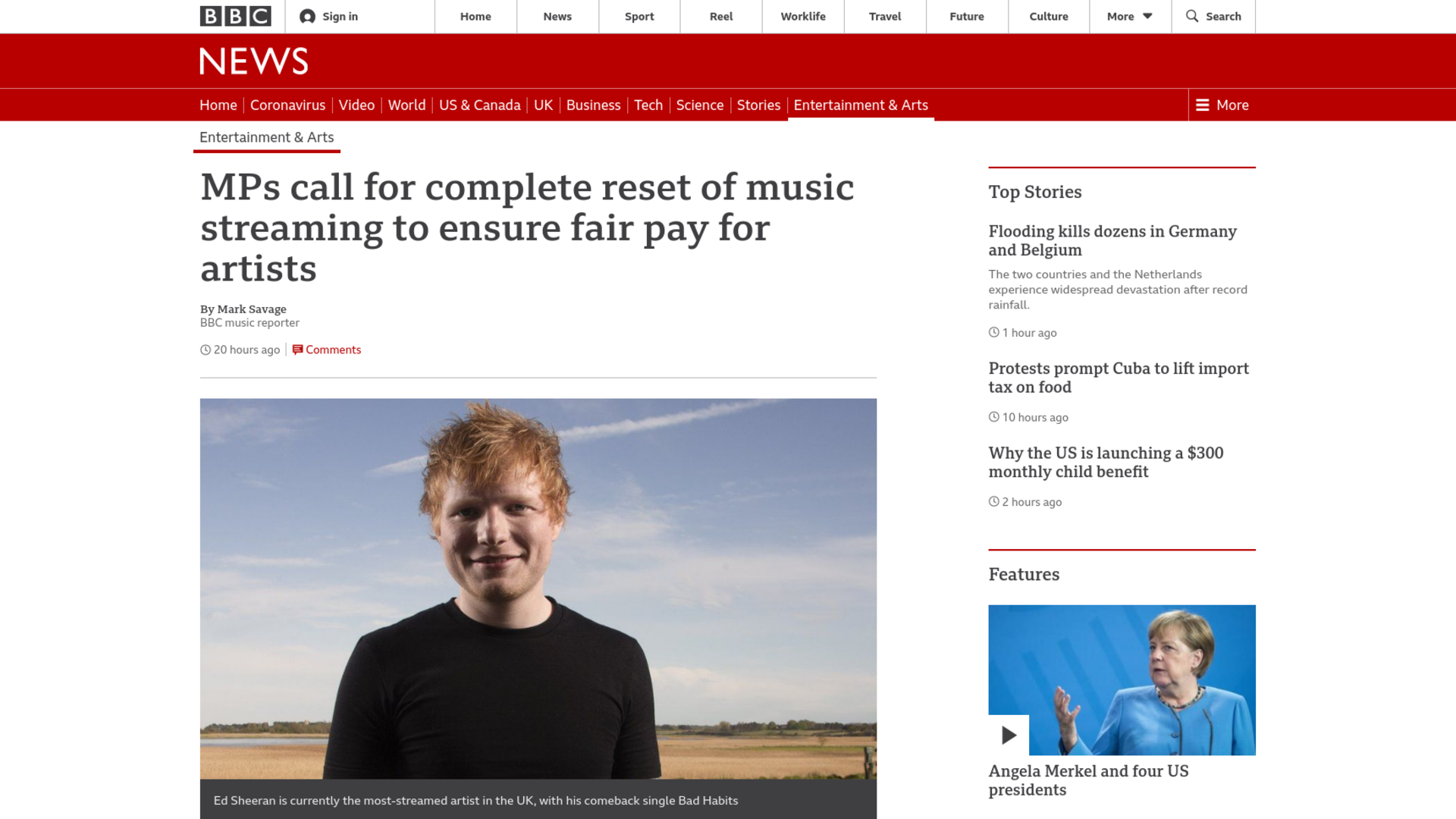Fairness Rocks News MPs call for complete reset of music streaming to ensure fair pay for artists