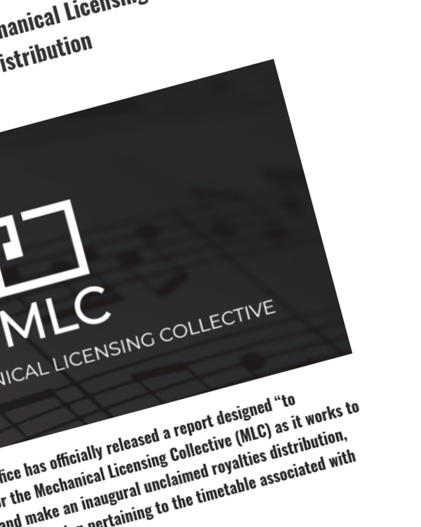 Fairness Rocks News Copyright Office Recommends Mechanical Licensing Collective Delay First Unclaimed-Royalties Distribution