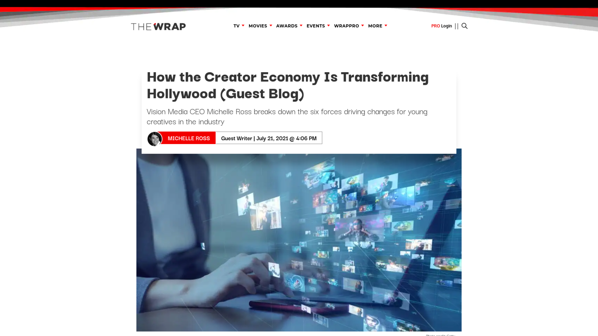 Fairness Rocks News How the Creator Economy Is Transforming Hollywood (Guest Blog)