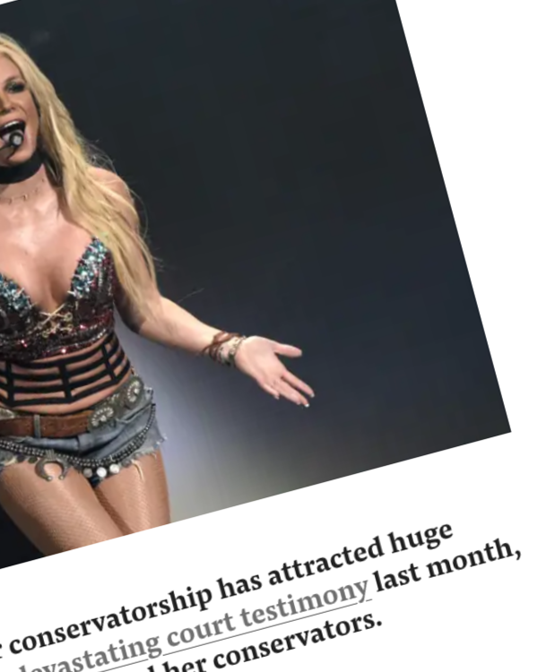 """Fairness Rocks News Britney Spears' Agent Called Her Conservatorship A """"Violation Of Human Rights"""" And Said He's Been """"Threatened"""" Into Remaining Silent In A Scathing New Instagram Post"""