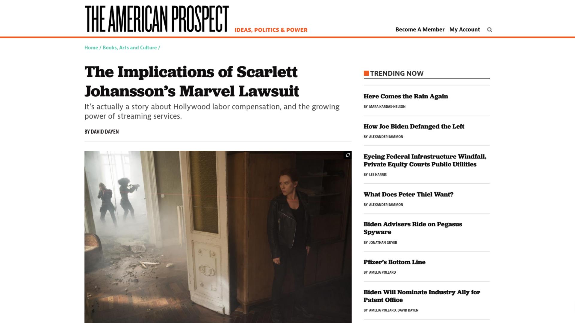 Fairness Rocks News The Implications of Scarlett Johansson's Marvel Lawsuit
