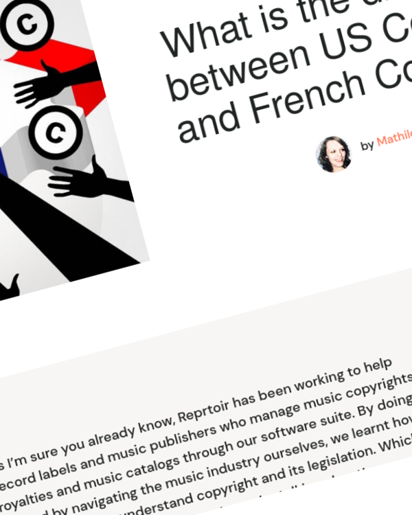 Fairness Rocks News What is the difference between US Copyright and French Copyright?