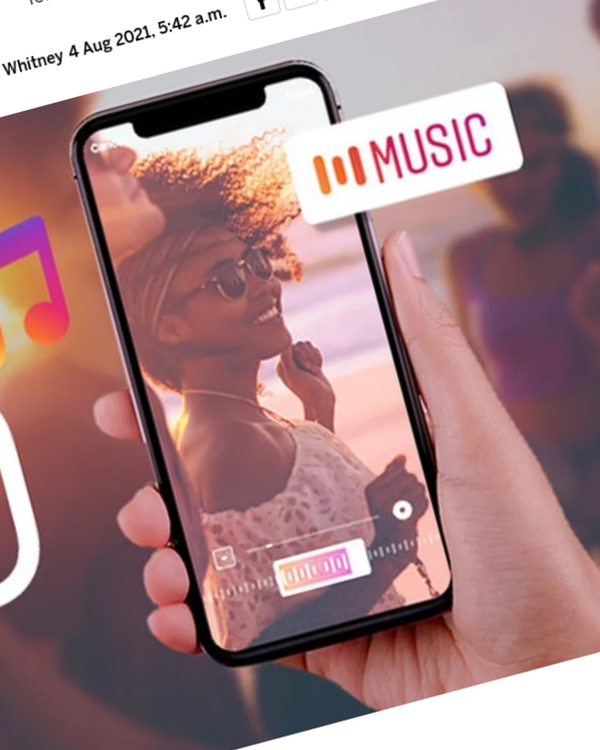 Fairness Rocks News How to Add Music to an Instagram Story